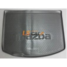Коврик в багажник Mazda 3 (BL) II хэтчбек 2009-2013