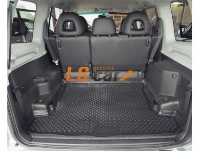 Коврик в багажник Mitsubishi Pajero III (5 дверный) 2000-2007
