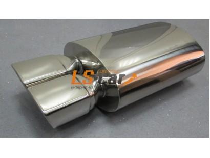 Глушитель прямоточный, спортивный HJ-A0634
