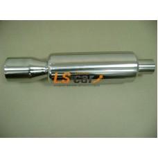 Глушитель прямоточный спортивный HJ-A0081
