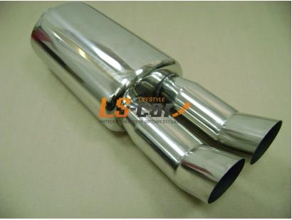Глушитель прямоточный спортивный HJ-A0032