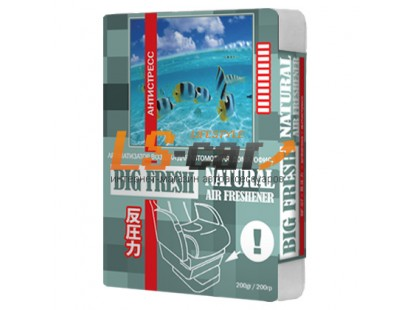 "Ароматизатор воздуха  ""BIG FRESH"" BF-07 Антистресс (200гр.)"