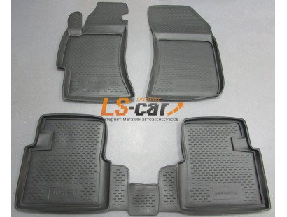 Коврики в салон Subaru Impreza III седан/хэтчбек 2007-2011