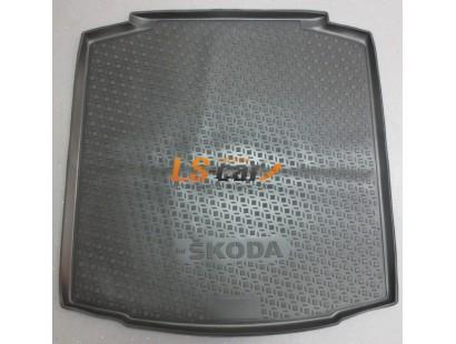 Коврик в багажник Skoda Rapid 2012-...