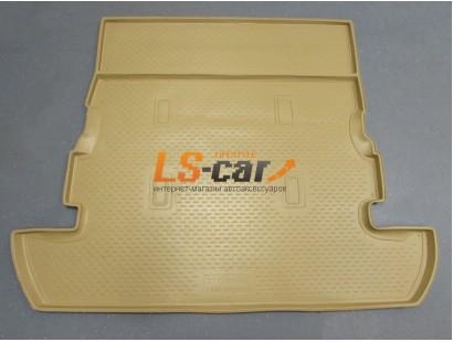 Коврик в багажник Toyota Land Cruiser 200 внедорожник 2007-2011