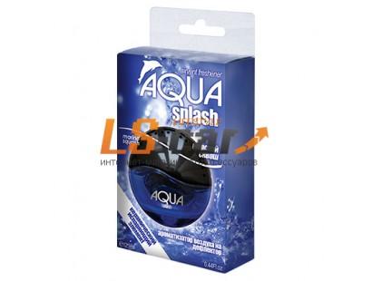 """Ароматизатор воздуха на дефлектор  """"AQUA SPLASH"""" ASV-91 Океанский бриз (12,9 мл.)/40"""