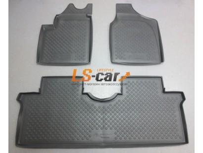 Коврики в салон Volkswagen Sharan I (cargo) 5pass 1995-2010