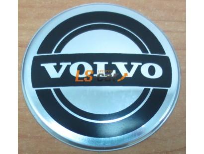 """Наклейка """"Volvo"""" (диаметр 55мм.) на автомобильные колпаки, диски компл. 4шт."""