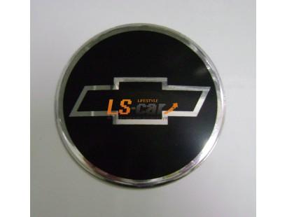 """Наклейка """"Chevrolet"""" (диаметр 55мм.) на автомобильные колпаки, диски компл. 4шт."""