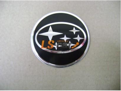 """Наклейка """"Subaru"""" (диаметр 60мм.) на автомобильные колпаки, диски компл. 4шт."""