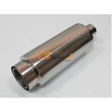 Глушитель прямоточный спортивный HJ-A2106