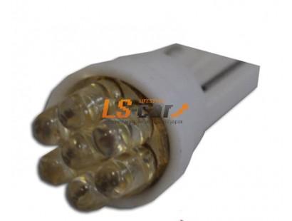 Светодиодная лампа для а/м T10-7 LED W