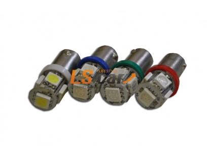 Светодиодная лампа для а/м Т10-BA9S-5LED-5050 W