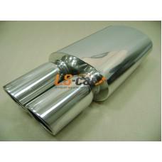 Глушитель прямоточный спортивный HJ-A0645