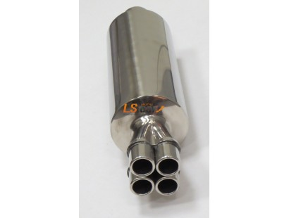 Глушитель прямоточный, спортивный HJ-A027