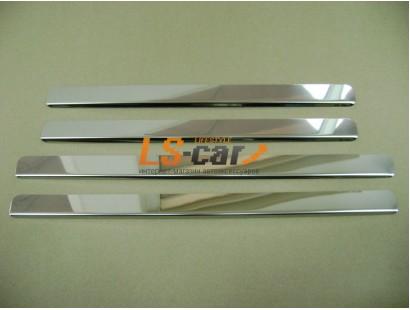Накладки на пороги ВАЗ 2109-2115 из нержавеющей стали