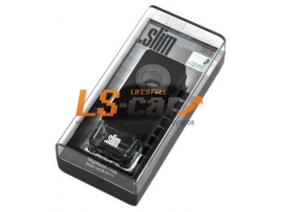 """Ароматизатор на дефлектор  """"SLIM"""" SLIMV-74 Черный лед (8 мл.)"""