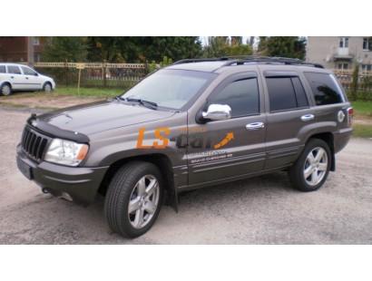"Дефлекторы окон накладные Jeep Grand Cherokee II (1999-2004; кузов WJ) ""Cobra"""