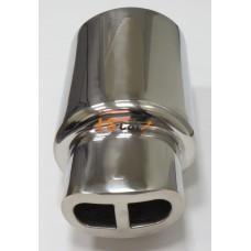 Глушитель прямоточный, спортивный HJ-A0021
