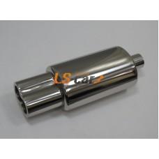 Глушитель прямоточный, спортивный HJ-A0022