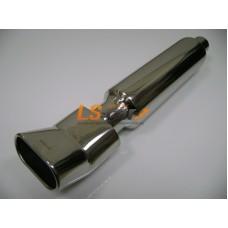 Глушитель прямоточный спортивный HJ-A024