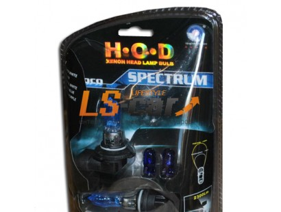"""Лампа галогеновая """"SPECTRUM"""" super white 9005 HB3"""