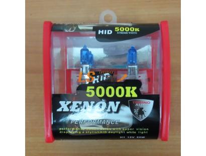 Лампа галогеновая H1 Xenon 5000K