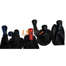 Пыльник КПП ВАЗ 2101-07 в наборе(ручка+пыльник) кожа,черная