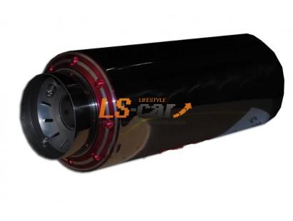 Глушитель прямоточный, спортивный HJ-A121RD