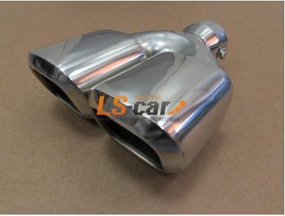 Насадка на глушитель нержавеющая сталь HJ-3034