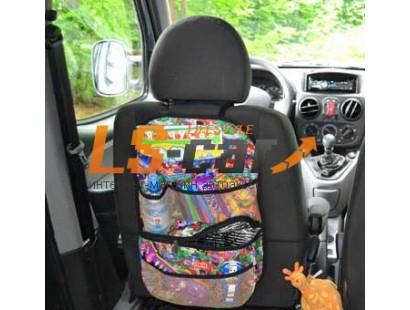 Органайзер детский на спинку переднего сидения bag048