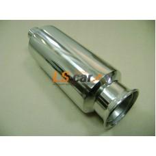 Глушитель прямоточный спортивный HJ-A152