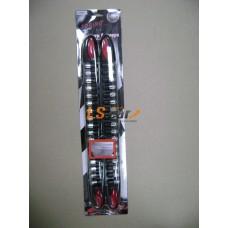 Накладки на бампер HJ-104BK