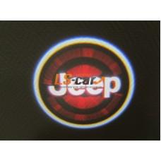 Беспроводная проекция логотипа нового поколения, самоклеющаяся, JEEP