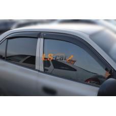 "Дефлекторы боковых окон Hyundai Accent II Sd 1999-2005; Tagaz 2001 ""CT"""