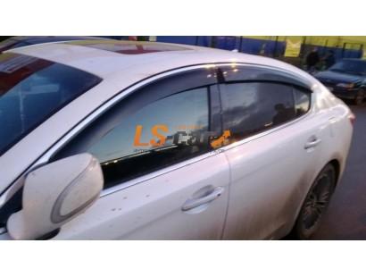 """Дефлекторы боковых окон Mazda 3 III Sd/Hb 2013  """"CT"""""""