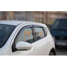 """Дефлекторы боковых окон Nissan Qashqai I 2006-2014  """"CT"""""""