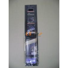 Комплект штор PREMIUM на окна а/м, 2шт, размер LL, 60 см., черный