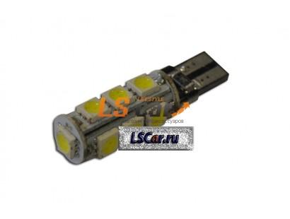 Светодиодная лампа для а/м T10-1350 CANBUS