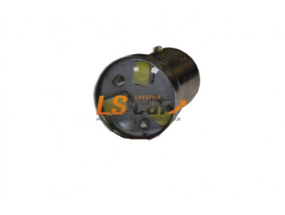 Светодиодная лампа для а/м G18-3SMD-5630 1-контакт с линзой (белый)12V