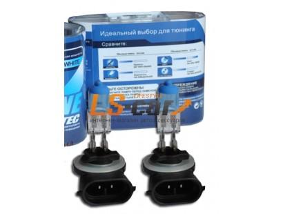 """Лампа галогеновая """" SKYLINE"""" H27-881 12V27W (ULTRA-WHITE 3800K) комп. 2шт"""