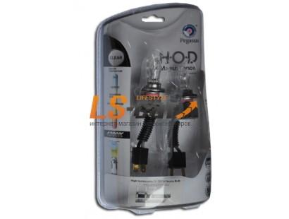 """Лампа галогеновая """"HOD MAGUS XENON"""" (clear-tech)газонаполненные  4300K +50%  H7 12V-55W  (комплект 2+2 шт)"""
