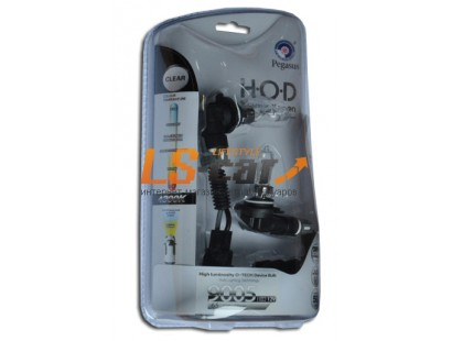 """Лампа галогеновая """"HOD MAGUS XENON"""" (clear-tech)газонаполненные  4300K +50%  HB3-9005 12V65W  (комплект 2+2 шт)"""