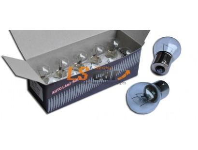 Лампа габаритная 1 конт,P21W 24V/21W BAU15S(цвет белый)
