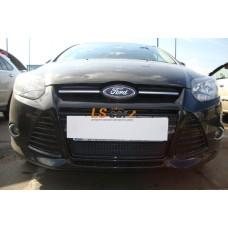 Защита радиатора  Ford Focus III black