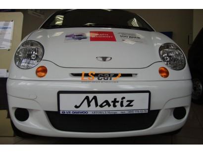 Защита радиатора Daewoo Matiz black