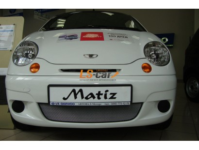 Защита радиатора Daewoo Matiz chrome
