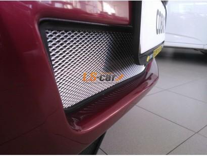 Защита радиатора Chevrolet Cobalt 2013- chrome низ
