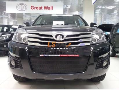 Защита радиатора Great Wall Hover H3 black