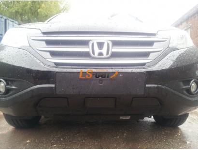 Защита радиатора Honda CR-V IV 2012- 2.4 black